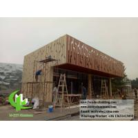 Quality Architectural facade Aluminium wall cladding powder coated exterior use for sale