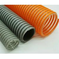 China Flexible PVC Water Hose Reinforced Helix Suction And Discharge Hose / Pipe / Tube wholesale