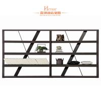 China Modern Commercial Hotel Furniture / Wooden Bookcase With 4 Tiers wholesale