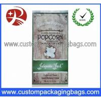 China Pretty Compound Vacuum Plastic Food Packaging Bags For Popcorn Packaging wholesale