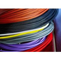 China Lightweight / Flexible Braided Nylon Sleeve For Electric Wire Protection wholesale