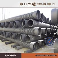 China sn8 pe corrugated pipe / culvert pipe / corrugated drainage waste pipe wholesale