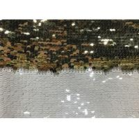 China Double Sided Glitter Sequin Fabric Environmental Friendly Sublimation wholesale