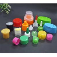 China Various Size Plastic Flip Top Caps Standard Private Label For Cosmetic Dispensing Bottle on sale