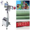China High Speed Laser Marking Equipment , Fiber Laser Engraving Machine Long Lifespan wholesale