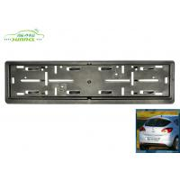 China Durable Car Exterior Accessories customized license plate frames on sale