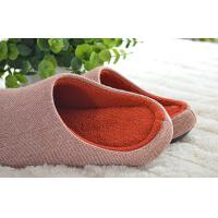 China High grade cotton cloth leisure non-skid indoor slippers for hotel 36-45 size wholesale