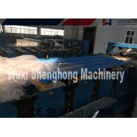 China 380V 50Hz Roof Roll Forming Machine , Corrugated Metal Deck Roof Tile Making Machine on sale
