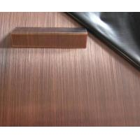 China stainless steel sheet titanium bronze color hairline /mirror finish grade 304 wholesale