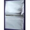 China Silver Aluminium Foil Bag Self Adhesive Plastic Bag With Adhesive Seal wholesale
