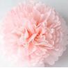 China Light Pink Party Decoration Paper Flower Tissue Paper Pom Poms Balls Craft wholesale