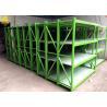 China Customized Size Medium Duty Steel Rack System Electrostatic Spray Surface wholesale