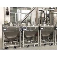 China 400L Stainless Steel Vacuum Conveyor For Powder Tote IBC Tank Container on sale