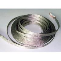 China Custom Diameter Tinned Copper Braid Shield For Cable Wire Grounding Harness wholesale
