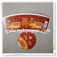 China Ice Cream Paper cup blank with PE Coated Paper Manufacturers & OEM Manufacturer in China wholesale