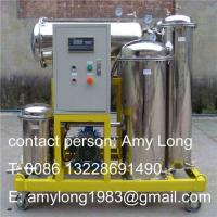 China ZJD used vegetable oil purifier, cooking oil purifier, vegetable oil recycling, cooking oil refine wholesale