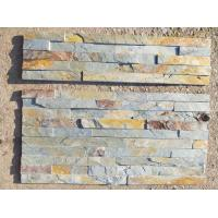China Green Rust Slate Culture Stone,Natural Slate Stone Cladding,Split Face Slate Stacked Stone,Thin Stone Veneer wholesale