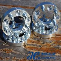 "China Custom 1.50"" 74mm Hub Centric Wheel Adapters 12x1.5 Studs , Billet Wheel Spacer Adapter wholesale"