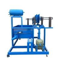 China Factory Egg Tray Manufacturing Plant , Adjustable Speed Paper Pulp Moulding Machine on sale
