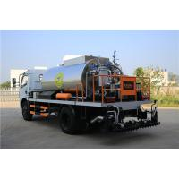 China HOWO 4000L Asphalt Construction Equipment Covered With Stainless Steel Sheets wholesale