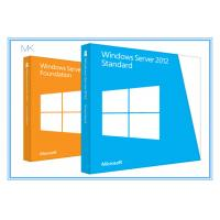 China Microsoft Windows Server 2012 Versions Standard Edition 64bit 5 Clients wholesale