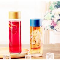 China Clear Cylinder Glass Bottle,bubble tea glass bottle on sale