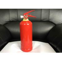 China Multi Purpose Powder Fire Extinguisher , 1kg Fire Extinguisher With Bracket / Hook wholesale