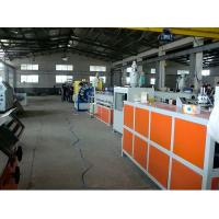 China pvc Plastic Pipe Extrusion Line , 16-63mm pvc Water Pipe Making Machine on sale