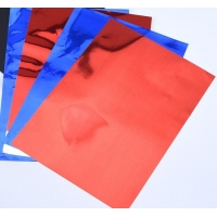 China 12micron Red Metalized Mylar Film  , Composite Packaging Color Pet Film wholesale