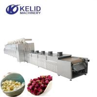China 30KW Industrial Microwave Flower Tea Drying And Dehydration Machine wholesale