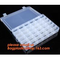 China Adjustable Plastic Storage Box For Nail Art Design Decoration, Creative multi-function plastic storage box cosmetics cas wholesale