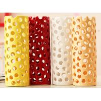 China high temperature coloured glaze Hollow receptacle wholesale