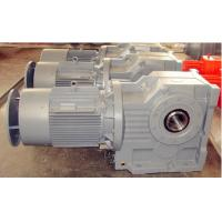 China K Series Helical Bevel Gear Reducer With Motor for sugar cane wholesale