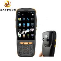 China NFC Reading RFID Barcode Scanner , QR Code Pda Portable Device HD Camera GPS Navigation wholesale