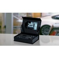 Buy cheap Luxary Hard Cover Lcd Video Box / Jewellery Video Box With Hd 7 Inch Screen from wholesalers