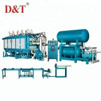 China Blue Color High Performance Eps Molding Machine Controlled Automatically By PLC on sale