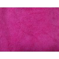 China Red colorful warp terry cloth 50*60 textile microfiber household cleaning towel wholesale