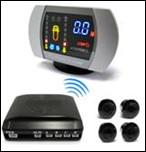 China 4 Sensors Wireless Parking Sensors for Cars  , LED Parking System 2.0m Distance on sale