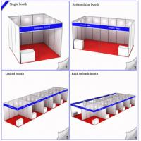 China 3x3M Standard Booth For Exhibition Expo Hall,Modular Shell Scheme Stand,R8 System Aluminiu wholesale
