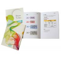 Full Color Brochure Booklet Printing Bi Fold Land Square Photo Magazine Book