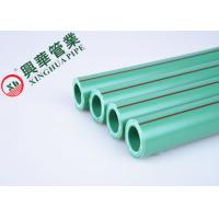 China Green / White PPR Aluminum Pipe Polypropylene Raw Material Easy To Install wholesale