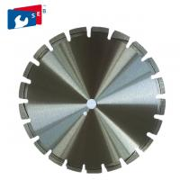 Buy cheap Multipurpose Diamond Saw Blades Irregular Segment For Cutting Asphalt from wholesalers