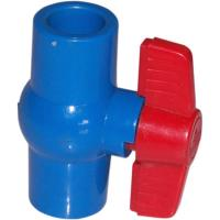 China Compact 1/2 ~ 4  True Union Plastic PVC Ball Valve Floating For Water Supply wholesale