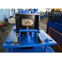 China 11 Stations Roller Rack Roll Forming Machine , Steel Angle Rolling Machine With Control Box wholesale