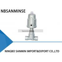 China JDF800 Pneumatic Angle Seat Valve , Right Stainless Steel Angle Valve wholesale