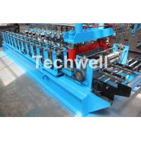 China 0-15m/min Forming Speed Cold Roll Forming Machine With Sheet Left And Right Traverse Movement wholesale