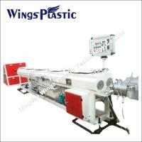 China Double - PVC Conduit Pipe Manufacturing Machine / Extrusion Line wholesale