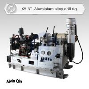 China Super light weight aluminium alloy XY-3T hydraulic water well drilling machine wholesale