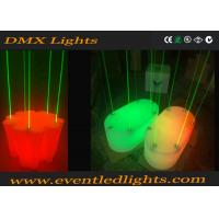 Rechargeable Remote Control LED Dance Floor Disco / Club Laser Lighting Dance Stages Manufactures