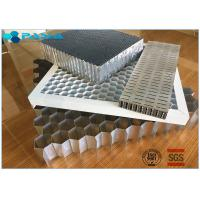 China Aluminum Honeycomb Curtain Wall Core Board 0.06mm Thickness Glue Bonded wholesale